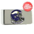 Gifts, Novelties: Minnesota Vikings Money Clip
