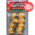 Helmets, Pocket Pro Helmets: Green Bay Packers Gumball Party Pack Helmets