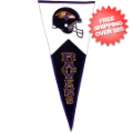 Collectibles, Pennants: Baltimore Ravens NFL Pennant Wool