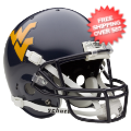Helmets, Full Size Helmet: West Virginia Mountaineers Full Replica Football Helmet Schutt