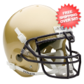 Helmets, Full Size Helmet: Navy Midshipmen Authentic College Football Helmet Schutt