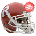 Helmets, Full Size Helmet: <font color='#1A9200'><B>BLOW OUT</B></font> Rutgers Scarlet Knights Authen...