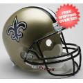 Helmets, Full Size Helmet: New Orleans Saints Full Size Replica Football Helmet