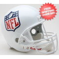 Helmets, Full Size Helmet: NFL Shield Logo Full Size Replica Football Helmet