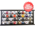 Helmets, Pocket Pro Helmets: NFL 32 Revolution Pocket Pro Set with display case 33172