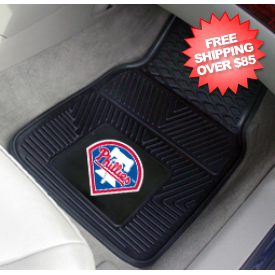 Philadelphia Phillies Vinyl Car Mats