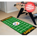 Home Accessories, Game Room: Pittsburgh Steelers Runner Rug