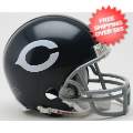 Helmets, Mini Helmets: Chicago Bears 1962 to 1973 Riddell Mini Replica Throwback Helmet
