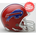 Helmets, Mini Helmets: Buffalo Bills 1987 to 2001 Riddell Mini Replica Throwback Helmet