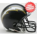 Helmets, Mini Helmets: San Diego Chargers 1988 to 2006 Riddell Mini Replica Throwback Helmet