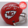 Autographs, Mini Football Helmets: Jan Stenerud Kansas City Chiefs Autographed Mini Helmet