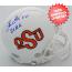 Thurman Thomas Oklahoma State Cowboys Autographed Mini Helmet