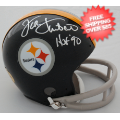 Autographs, Mini Football Helmets: Jack Lambert Pittsburgh Steelers Autographed Mini Helmet