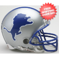 Helmets, Mini Helmets: Detroit Lions 1983 to 2002 Riddell Mini Replica Throwback Helmet