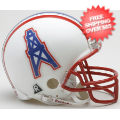 Helmets, Mini Helmets: Houston Oilers 1981 to 1996 Riddell Mini Replica Throwback Helmet