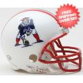 Helmets, Mini Helmets: New England Patriots 1990 to 1992 Riddell Mini Replica Throwback Helmet