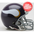 Helmets, Mini Helmets: Minnesota Vikings 1961 to 1979 Riddell Mini Replica Throwback Helmet