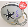 Autographs, Full Size Helmet: Adam Pacman Jones Dallas Cowboys Autographed Full Size Replica Helmet