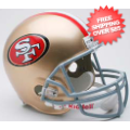 Helmets, Full Size Helmet: San Francisco 49ers Full Size Replica Football Helmet