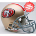 Helmets, Full Size Helmet: San Francisco 49ers Football Helmet