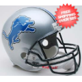 Helmets, Full Size Helmet: Detroit Lions Full Size Replica Football Helmet