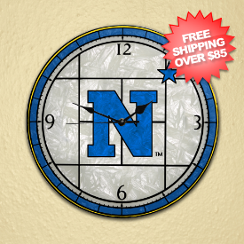 Navy Midshipmen Clock