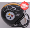 Autographs, Full Size Helmet: Jerome Bettis Pittsburgh Steelers Autographed Full Size Replica Helmet