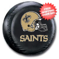 Car Accessories, Detailing: New Orleans Saints Tire Cover