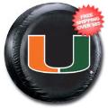 Car Accessories, Detailing: Miami Hurricanes Tire Cover