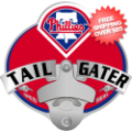 Car Accessories, Hitch Covers: Philadelphia Phillies Hitch Cover Bottle Opener