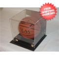 Display Cases, Helmets: Deluxe Full Size Basketball  Display Case