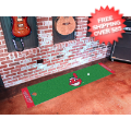 Home Accessories, Game Room: Cleveland Indians Golf Putting Green Mat