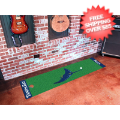 Home Accessories, Game Room: Tampa Bay Rays Golf Putting Green Mat