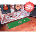 Home Accessories, Game Room: New Orleans Saints Golf Putting Green Mat