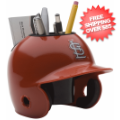 Office Accessories, Desk Items: St. Louis Cardinals Miniature Batters Helmet Desk Caddy