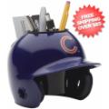 Office Accessories, Desk Items: Chicago Cubs Miniature Batters Helmet Desk Caddy