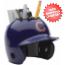Chicago Cubs Miniature Batters Helmet Desk Caddy