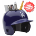 Office Accessories, Desk Items: Los Angeles Dodgers Miniature Batters Helmet Desk Caddy