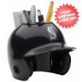 Office Accessories, Desk Items: Seattle Mariners Miniature Batters Helmet Desk Caddy