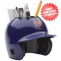 Office Accessories, Desk Items: New York Mets Miniature Batters Helmet Desk Caddy