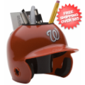 Office Accessories, Desk Items: Washington Nationals Miniature Batters Helmet Desk Caddy