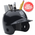 Office Accessories, Desk Items: San Diego Padres Miniature Batters Helmet Desk Caddy