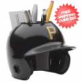 Office Accessories, Desk Items: Pittsburgh Pirates Miniature Batters Helmet Desk Caddy