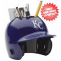 Office Accessories, Desk Items: Kansas City Royals Miniature Batters Helmet Desk Caddy