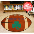 Home Accessories, Game Room: Notre Dame Fighting Irish Football Floor Mat