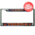 Car Accessories, License Plates: Clemson Tigers License Plate Frame Chrome Deluxe