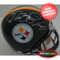Autographs, Full Size Helmet: Jerome Bettis Pittsburgh Steelers Autographed Full Size Authentic Helmet