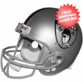 Helmets, Full Size Helmet: Los Angeles Raiders 1963 Full Size Replica Throwback Helmet