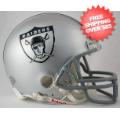 Helmets, Mini Helmets: Oakland Raiders 1963 Riddell Mini Replica Throwback Helmet