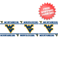 Home Accessories, Bed and Bath: West Virginia Mountaineers Wallpaper Border